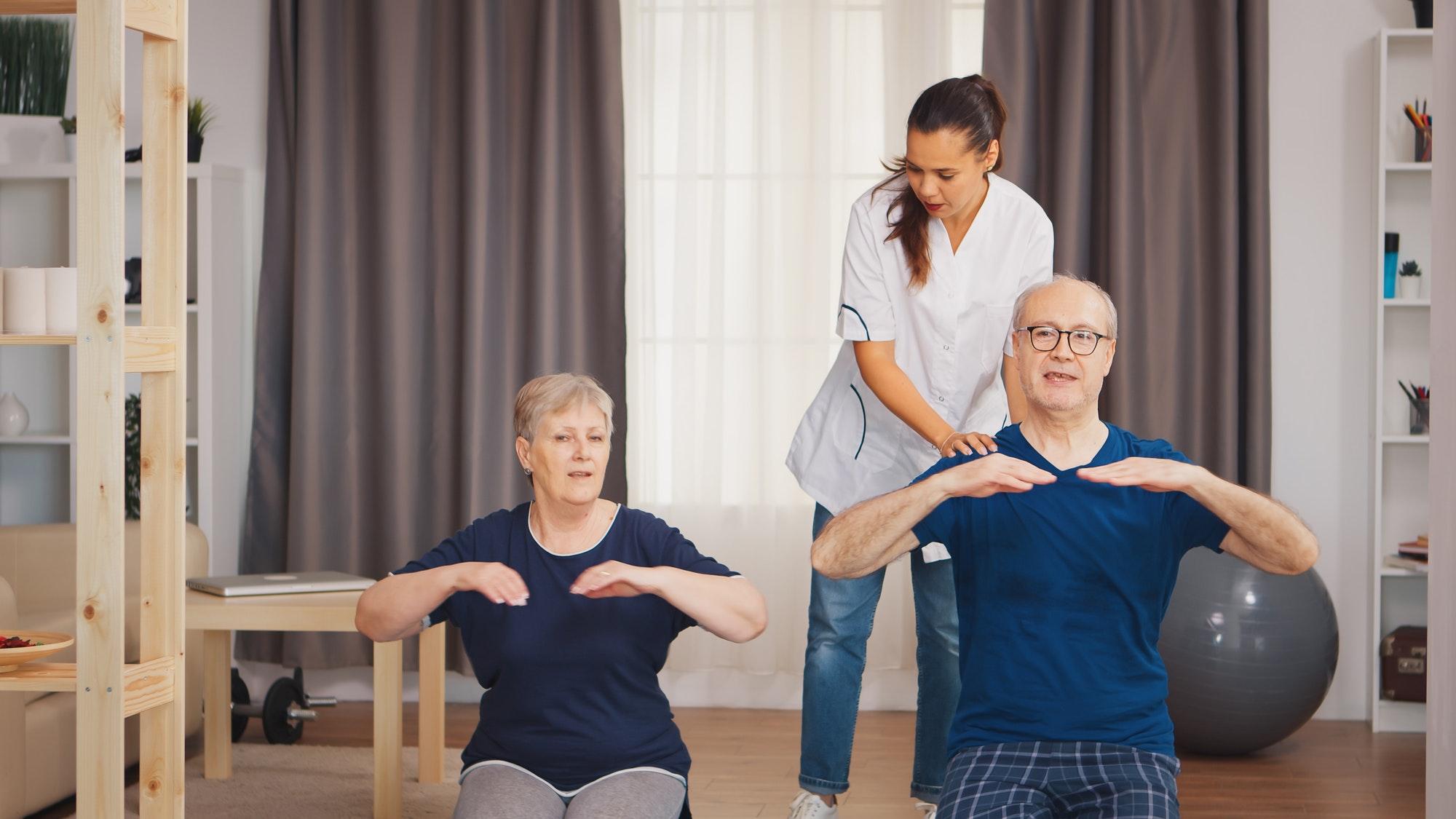 Senior couple therapy